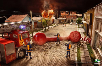 Government of the State of Paraná: Firefighters Print Ad by Master Comunicacao