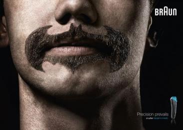 Braun cruZer: Super Beards Batman Print Ad by BBDO Dusseldorf