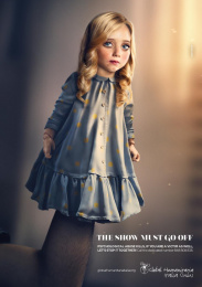 Global Humanitaria Italia Onlus: Dolls, 2 Print Ad by Acqua Group