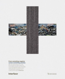 Interface: Recycled Materials Print Ad by 22squared, Lobo