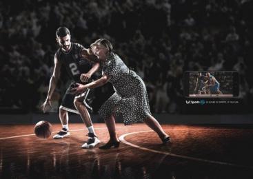 TyC Sports PLAY: Grandma Print Ad by Mercado McCann
