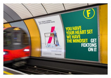 Foxtons: Get Foxtons On It, 9 Outdoor Advert by M&C Saatchi Accelerator