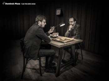 Domino's Pizza: Plan Two Moves Ahead Print Ad by McCann Tel Aviv