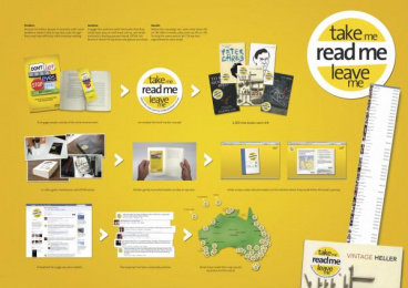 OPSM: TAKE ME, READ ME, LEAVE ME Direct marketing by BMF Australia