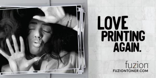 Fuzion: Kiss Woman Outdoor Advert by Agency59 Toronto