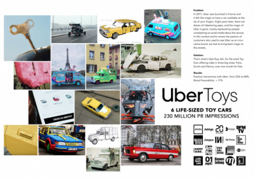 Uber: Uber Toys Print Ad by Art Bridge, DDB Paris