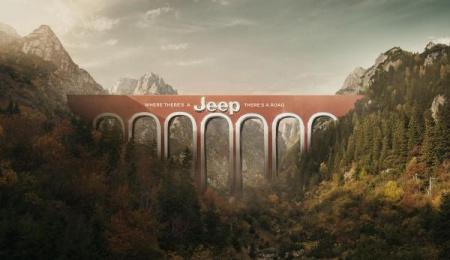 Jeep: Bridge, 2 Print Ad by JeffersonAndSon