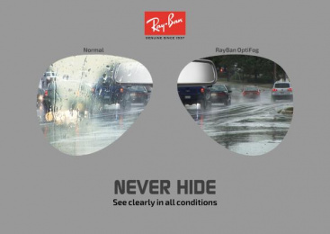 Ray-ban: Never Hide, 4 Print Ad by Art & Design Academy