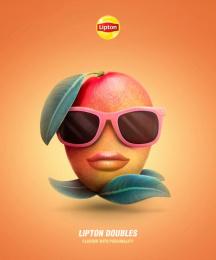 Lipton: Lipton Doubles, 4 Print Ad by Isobar Portugal