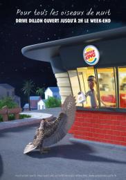 Burger King: Night Owls, 2 Print Ad by Corida