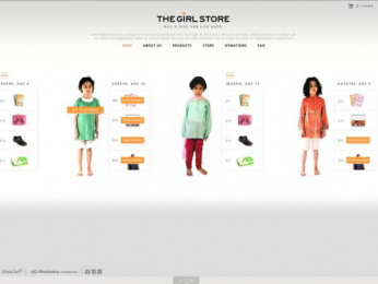 Nanhi Kali Organization: The Girl Store Digital Advert by StrawberryFrog