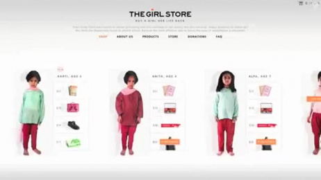 Nanhi Kali Organization: THE GIRL STORE Film by StrawberryFrog
