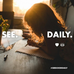 Lenscrafters: See. Good. Daily, 4 Print Ad by Truth Collective