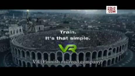 VR FINNISH RAILROAD COMPANY: MONUMENTAL ENVIRONMENT CONGRESS Film by Kaisaniemen Dynamo