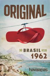 Alpargatas: Bondinho [alternative version] Print Ad by ALMAP BBDO Brazil, Landia