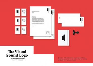 Munich Philharmonic: The Visual Sound Logo, 2 Design & Branding by Heye & Partner Munich