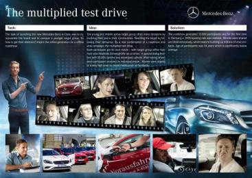 Mercedes-Benz: DIE MULTIPLIZIERTE PROBEFAHRT / DIE VORAUSFAHRER TOUR Direct marketing by Avantgarde Gesellschaft Fur Kommunikation