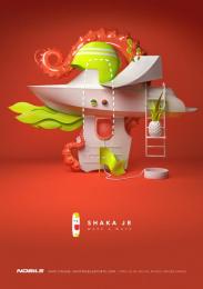 Nobile: Shaka Jr Print Ad by Saatchi & Saatchi Warsaw