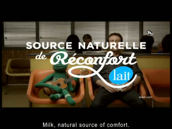 Le lait: Waiting Room Film by Nolin BBDO Montreal