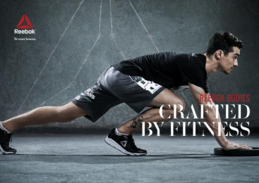 Reebok: Crafted by Fitness, 4 Print Ad by Manifiesto, Petra Garmon