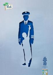 Peak: Pilot Print Ad by Noah's Ark Lagos