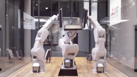 Threebots: Threebots - The World Of Mitsubishi Electric Film by Elastique. We Design