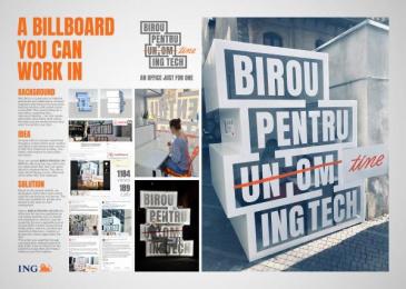 ING: Case study Print Ad by Rusu+bortun Brand Growers