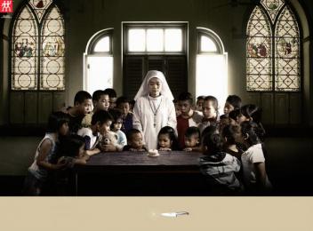 Zwilling J.a. Henckels: Nun, 2 Print Ad by BBDO Bangkok