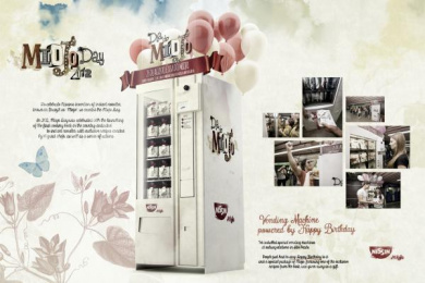 Nissin: VENDING MACHINE Outdoor Advert by F/Nazca Saatchi & Saatchi Sao Paulo