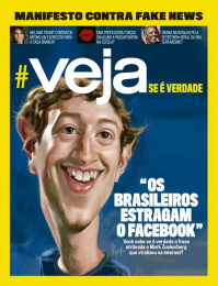 Veja: Cover Print Ad by DM9DDB Sao Paulo