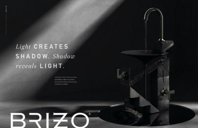 Brizo: Counter/Balance, 5 Print Ad by Young & Laramore