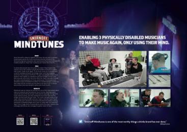 Smirnoff: MINDTUNES Digital Advert by Duval Guillaume Modem Antwerp