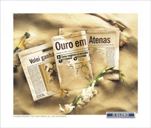O Globo: ATHENS Print Ad by FCB Sao Paulo