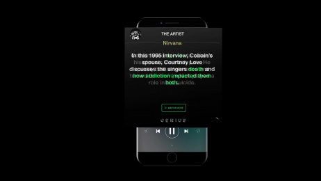 Spotify: Behind the Addiction Digital Advert by Miami Ad School