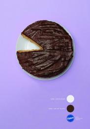 Pillsbury Pizza Pops: Literal Graphs 1 Print Ad by Y&R Johannesburg