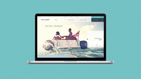 Williams Jet Tenders: The Williams website, 1 Digital Advert by Thinking Juice