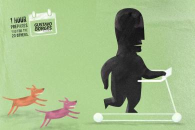 Gustavo Borges: Prepares - Treadmill Print Ad by Heads Propaganda