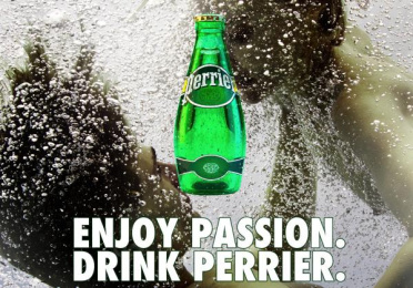 Perrier: Enjoy Passion, 3 Print Ad by Team collaboration
