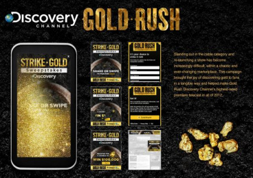 Discovery Channel: GOLD RUSH Promo / PR Ad by OMD New York