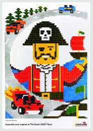 Legoland: Pirate Print Ad by VML New York