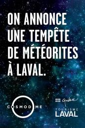 Cosmodome: Meteor Print Ad by Nolin BBDO Montreal