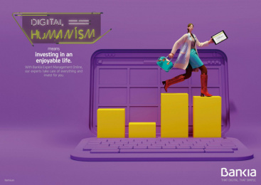 Bankia: Digital Humanism, 8 Print Ad by Attic Films, CLV Madrid