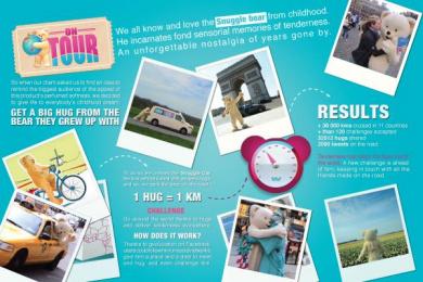 Snuggle: SNUGGLE TOUR Promo / PR Ad by Havas 360 Paris