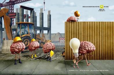 Brazilian Advertising Festival: Workers Print Ad by F/Nazca Saatchi & Saatchi Sao Paulo