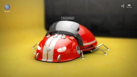 Volkswagen: Bug Configurator, 2 Digital Advert by Ogilvy & Mather Beijing, Ogilvy Beijing Lab / Beijing