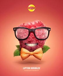 Lipton: Lipton Doubles, 2 Print Ad by Isobar Portugal