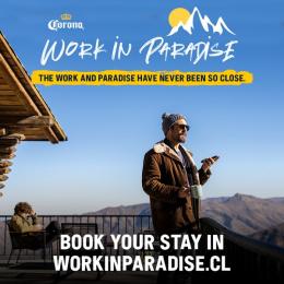 Corona: Work In Paradise, 3 Print Ad by WILD FI