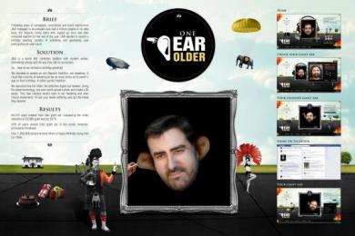 J&b Whisky: ONE EAR OLDER Print Ad by Shackleton Spain