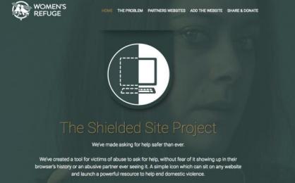 Women's Refuge New Zealand: The Shielded Site, 2 Digital Advert by Saatchi & Saatchi New Zealand