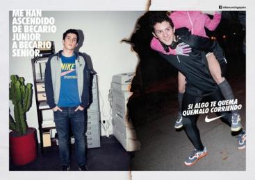 Nike: TRAINEE Print Ad by Villar & Rosas
